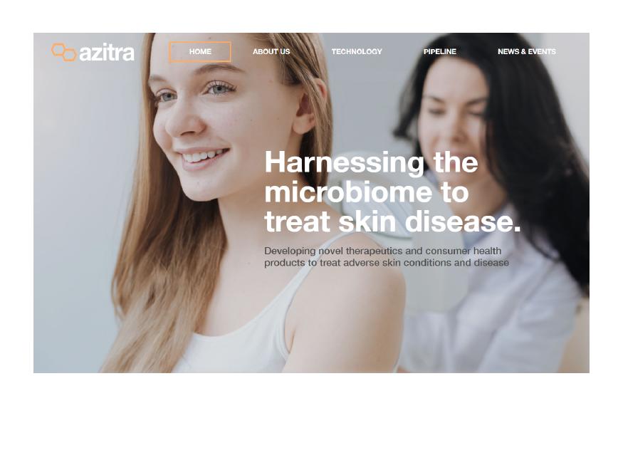 Azitra Desktop View