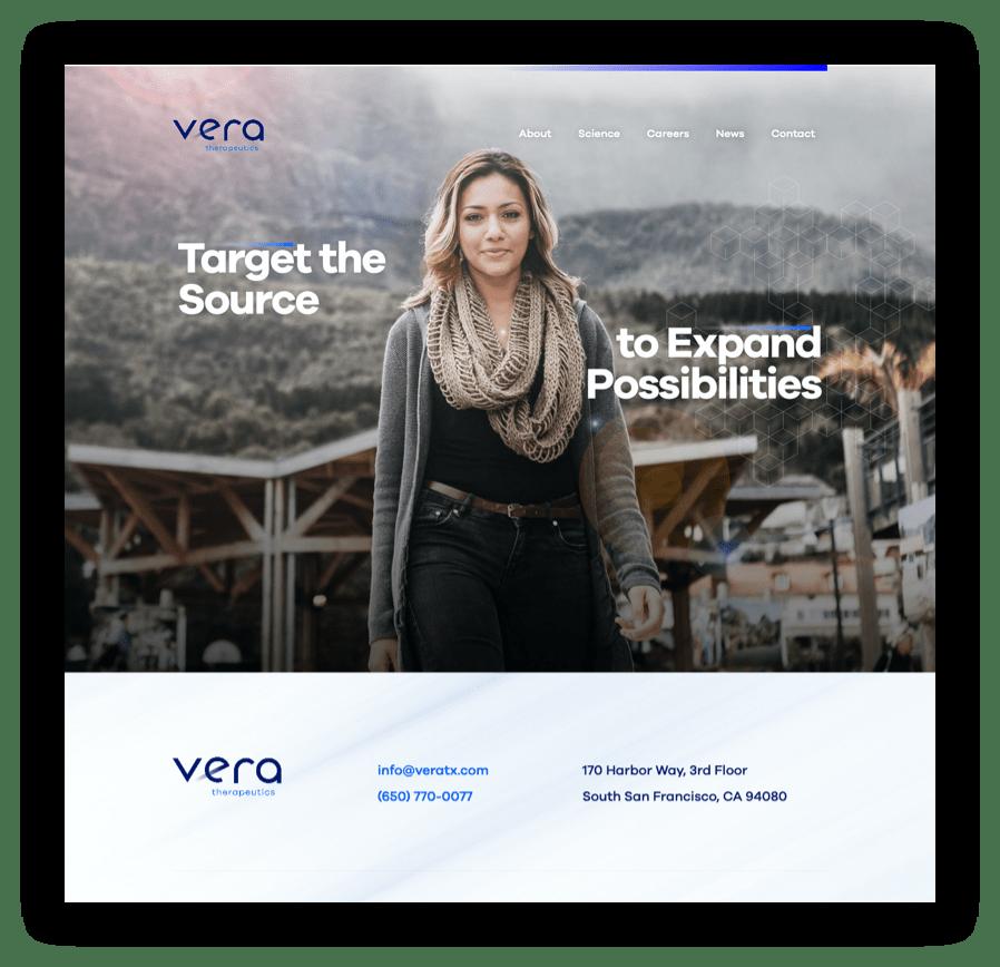 Vera home page