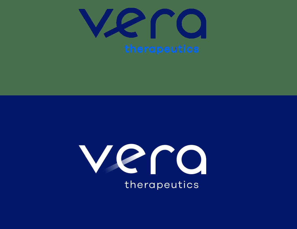 light and dark Vera Therapeutics logos