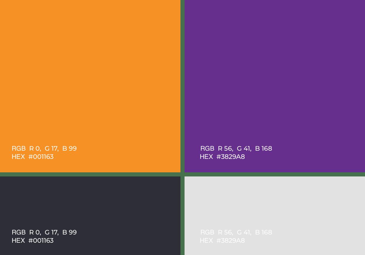 NextRNA Color Palette