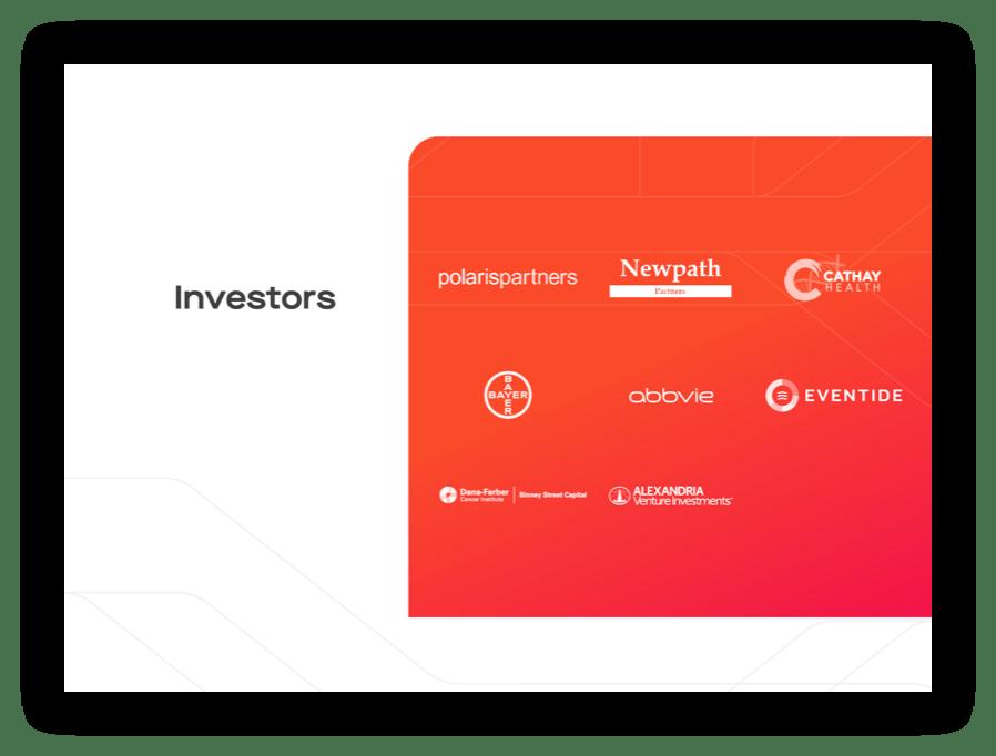Screenshot - Kojin Investors section